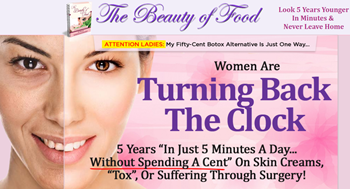 Beauty of Food Banner